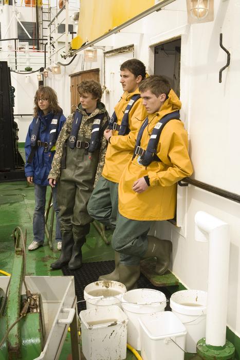 jonge wetenschappers in spé