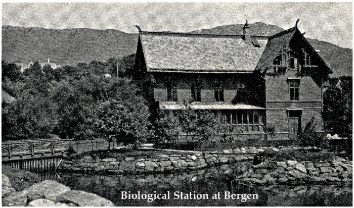 Biological Station at Bergen in 1908