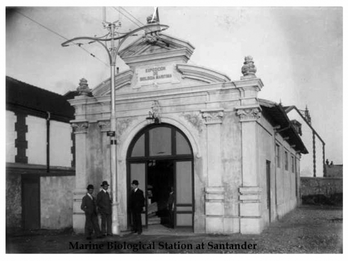 Marine Biological Station at Santander in 1908