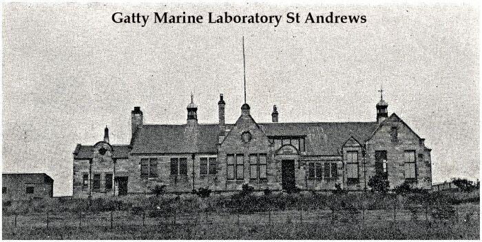 Gatty Marine Laboratory in St Andrews (Scotland) in 1909