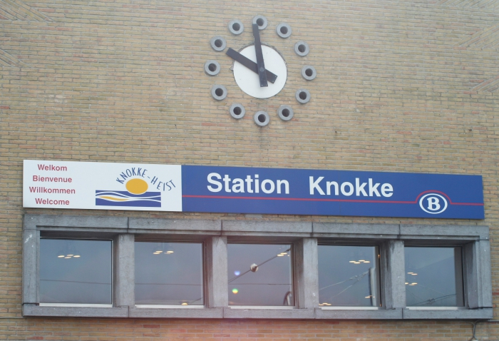 Station van Knokke