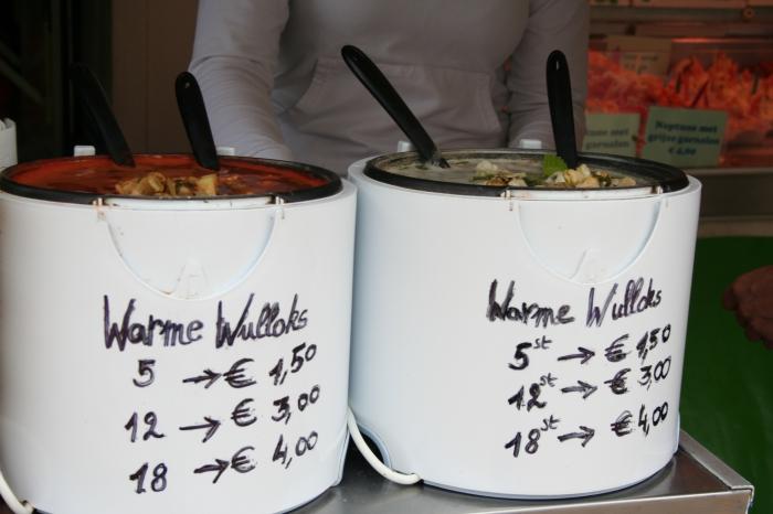 Warme wulloks