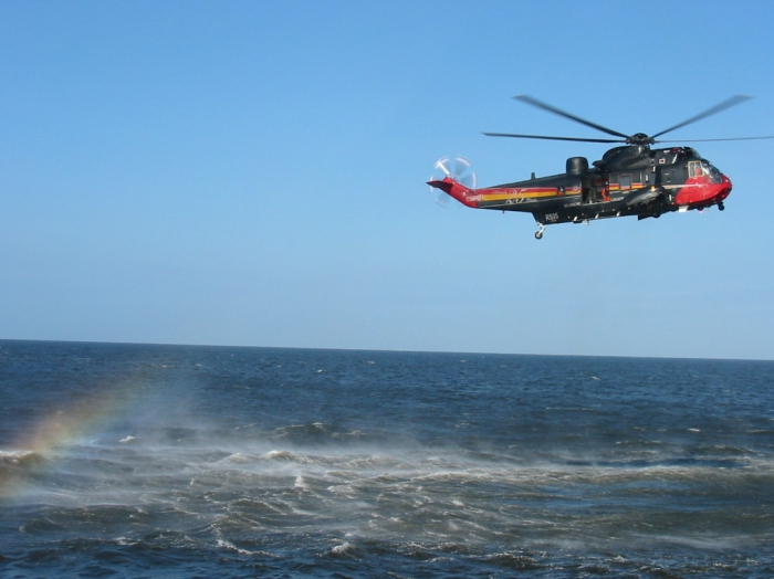 Excercice with Sea King