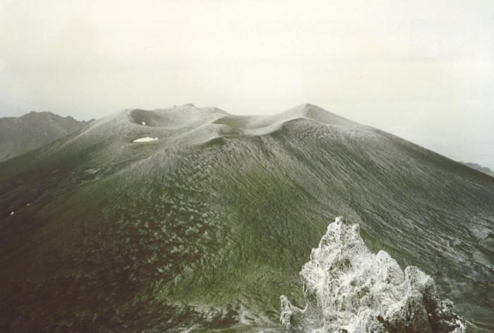 Old volcanoes