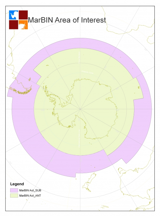 SCAR-MarBIN area of Interest