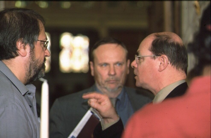 Picture of Jean-Pierre Féral, Carlo Heip and Rudy Herman