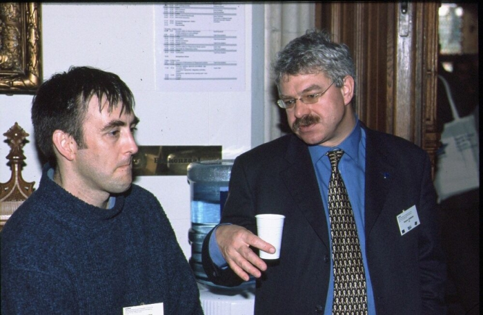 Picture of Chris Emblow and Steve Hawkins