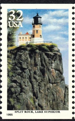 United States, Lake Superior, Split Rock