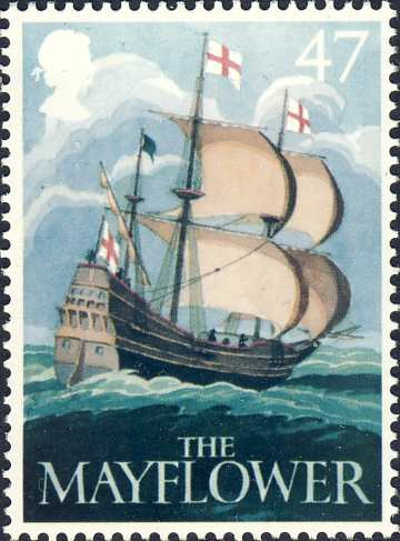 "Brits cargo schip ""The Mayflower"" (1609)"