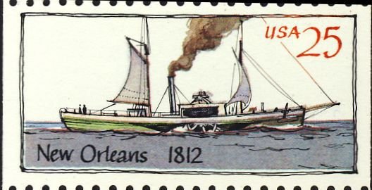 Amerikaans stoomschip &quot;New Orleans&quot; (1811-1814)