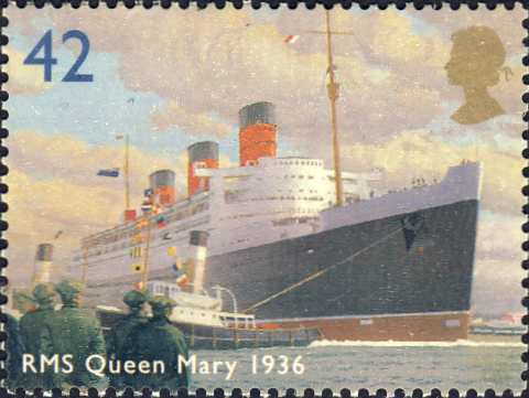 "Brits passagiersschip ""RMS Queen Mary"" (1934)"