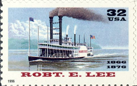 "Amerikaans stoomschip ""Robert E. Lee"" (1866-1882)"