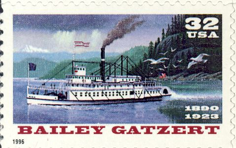 Amerikaans stoomschip &quot;Bailey Gatzert&quot; (1890-1926)