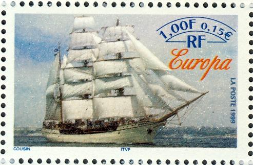 """Duits schoolschip """"Europa"""" (1911)"""