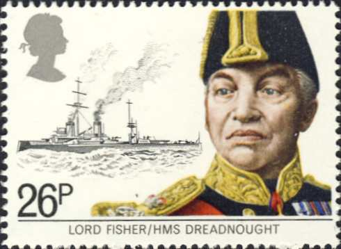 "Brits oorlogsschip ""HMS Dreadnought"" (1906)"