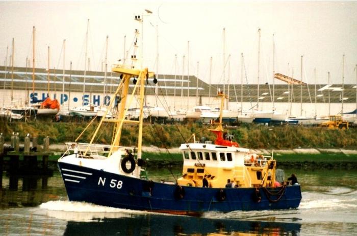 N.58 Pascin (bouwjaar 1986)