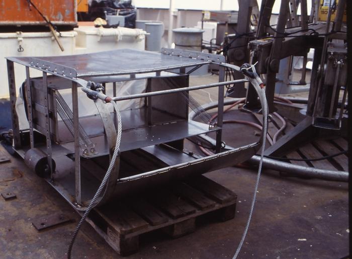 Hyperbenthische slee - model 1