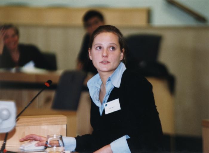 Voordracht laureaat VLIZ Aanmoedigingspijs 2002