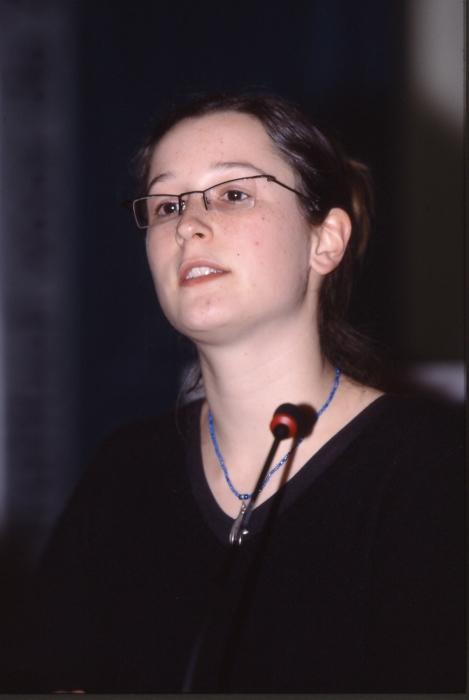 Voordracht laureaat VLIZ Aanmoedigingspijs 2003