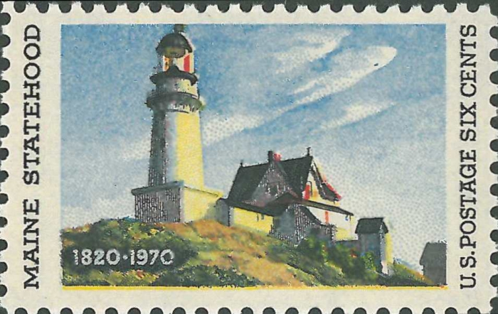 United States, Maine, Cape Elizabeth (Two Lights)