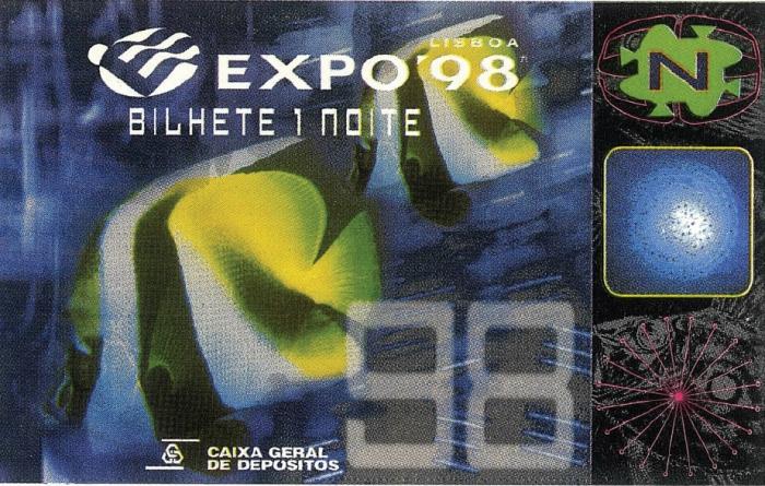 Toegangsticket Expo 98