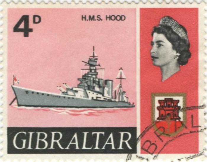 """Britse slagkruiser """"H.M.S. Hood"""" (1918)"""