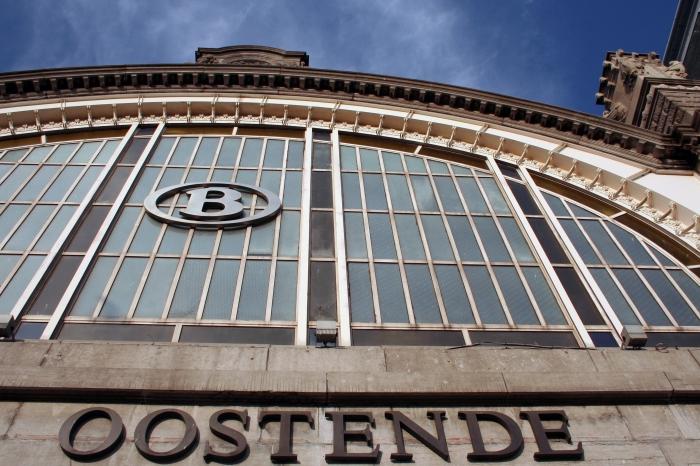 Het station van Oostende