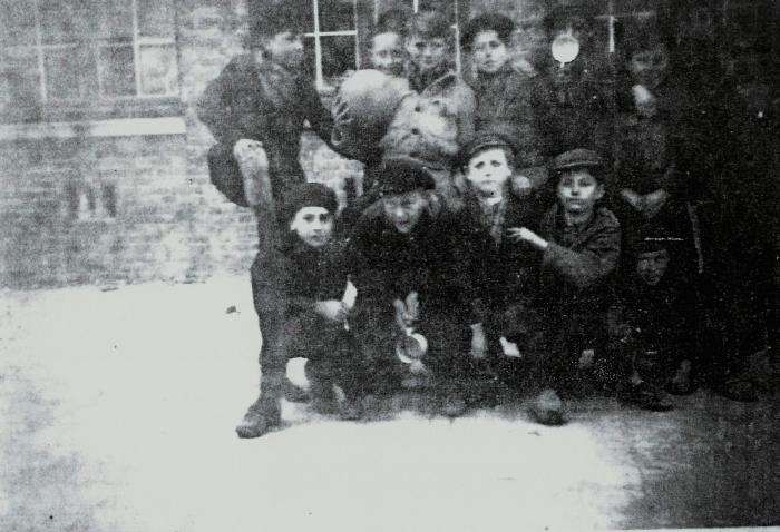 Leerlingen visserijschool Nieuwpoort (voor)