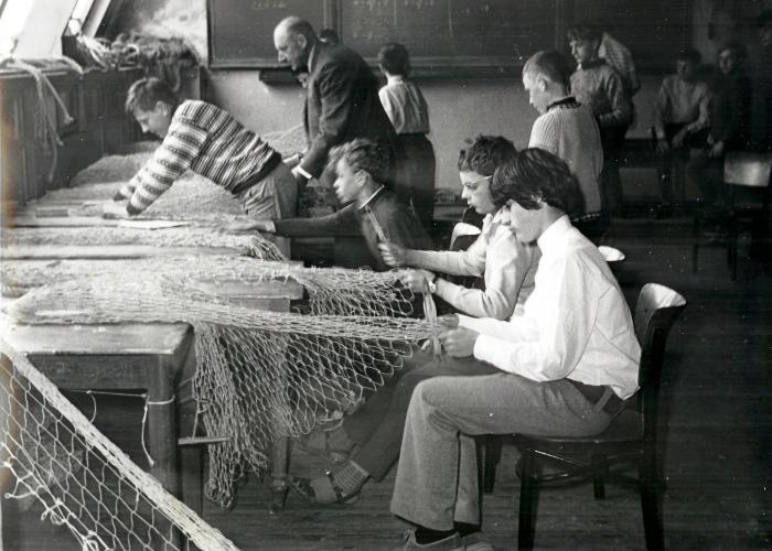 Leren netten breien