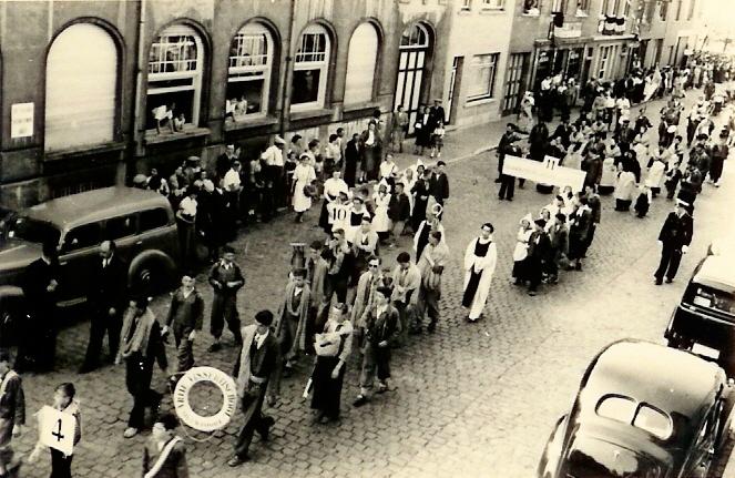 Processie 1948