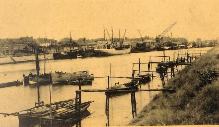 palingvissers te Nieuwpoort