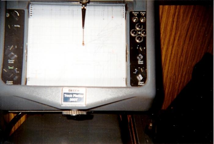 Decca plotter