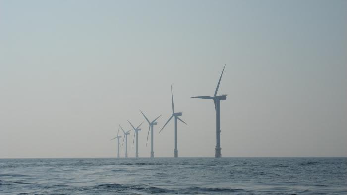 Windmolens op zee
