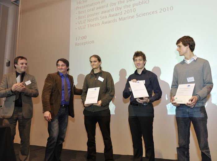Winnaars VLIZ Prijzen
