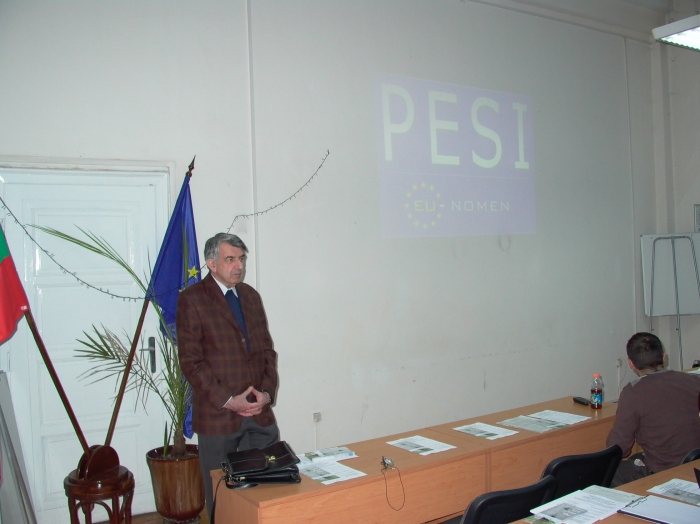 Welcome and opening of the meeting by Director NMNH: Dr. Alexi Popov