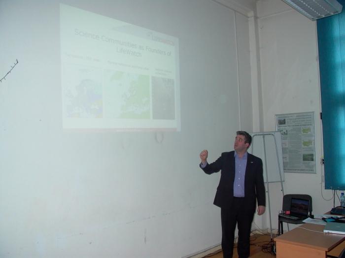 Presentation LifeWatch by Olaf Bankí