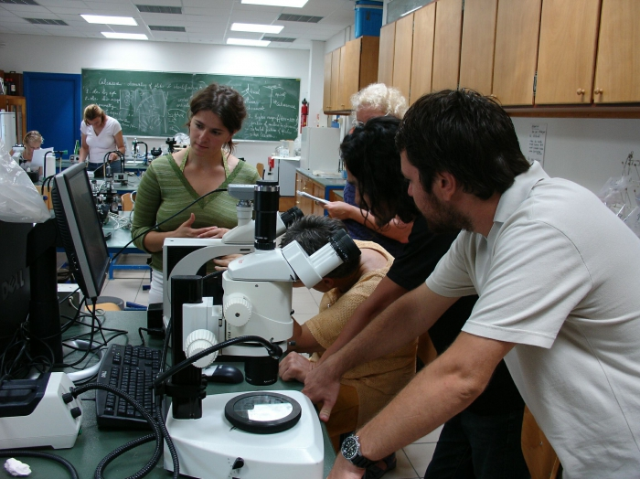 Picture of Porifera training course 14