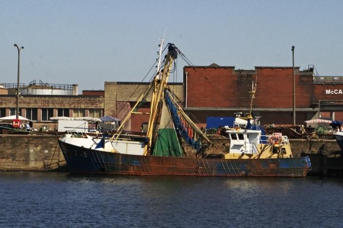 Aan de kaai in de haven van Oostende (09.09.2006)