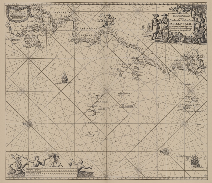 Van Keulen (1728, kaart 46)