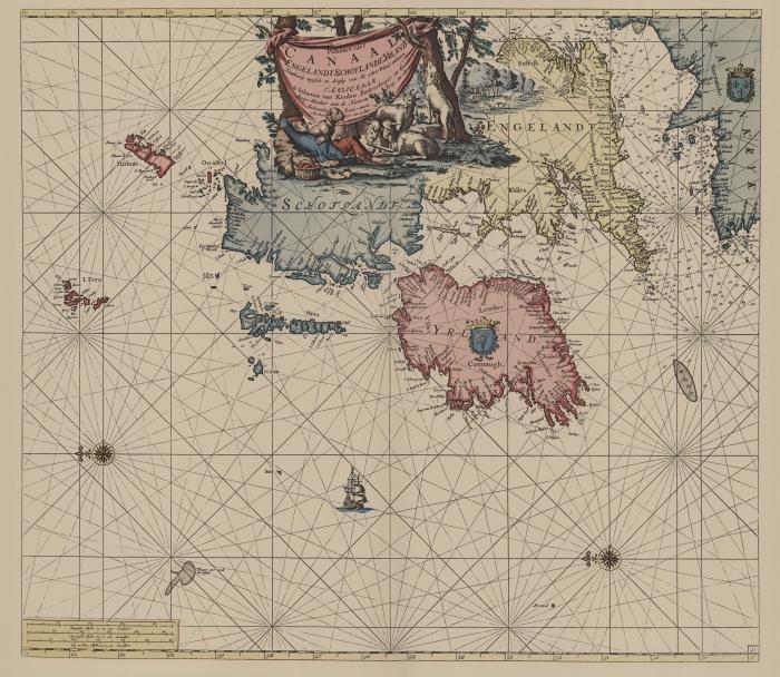 Van Keulen (1728, kaart 54)