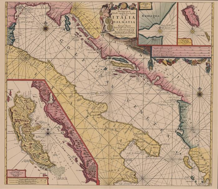 Van Keulen (1728, kaart 100)