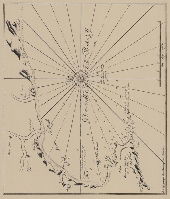 Van Keulen (1728, kaart 132)