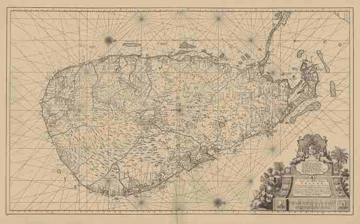Van Keulen (1728, kaart 174)
