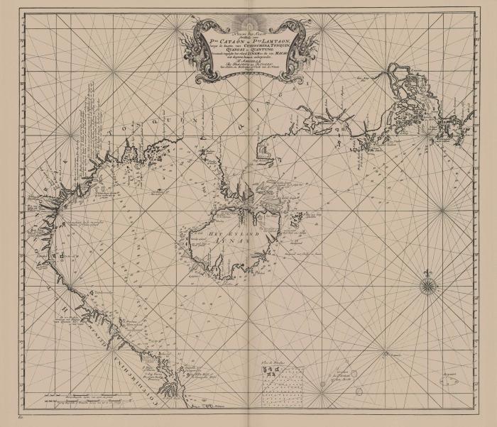 Van Keulen (1728, kaart 182)