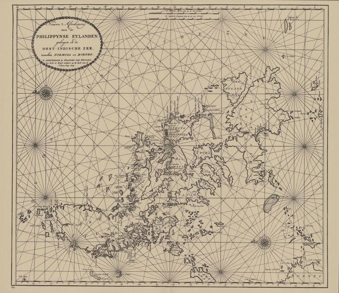 Van Keulen (1728, kaart 186)