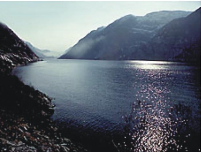 Sørfjorden, Hardanger.