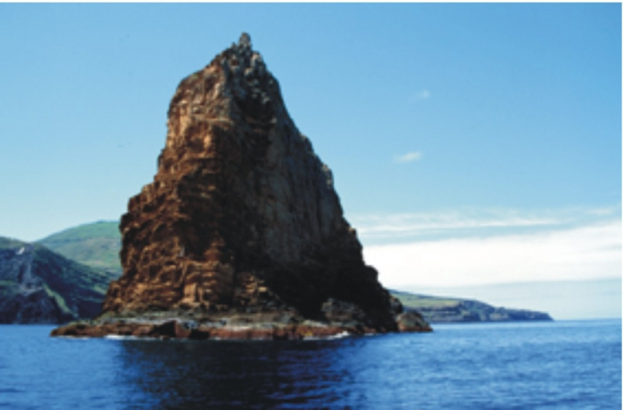 One of the Restinga islets.
