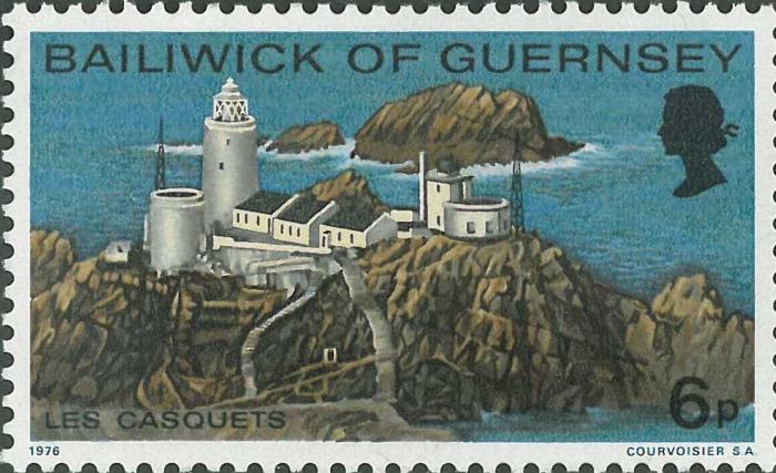 Guernsey, Les Casquets