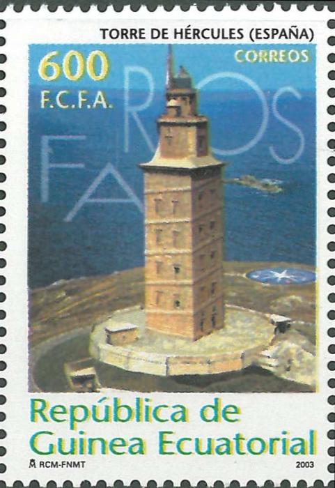 Spain, A Coruña, Torre de Hercules