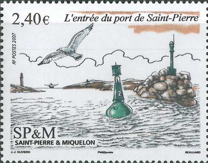 St. Pierre and Miquelon, Port de St. Pierre